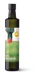 Bio Mohnöl von der Ölmühle Fandler