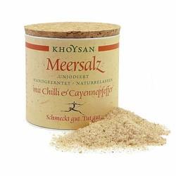 Khoysan Salz mit Bio Chilli & Cayennepfeffer