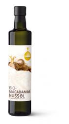Bio Macadamianussöl von der Ölmühle Fandler