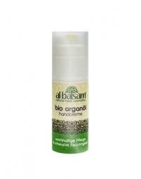 Handcreme mit Arganöl gegen Altersflecken